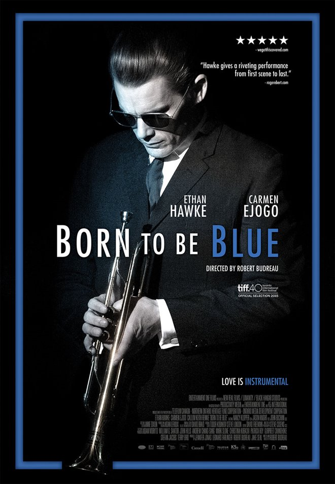 Born to be Blue Large Poster