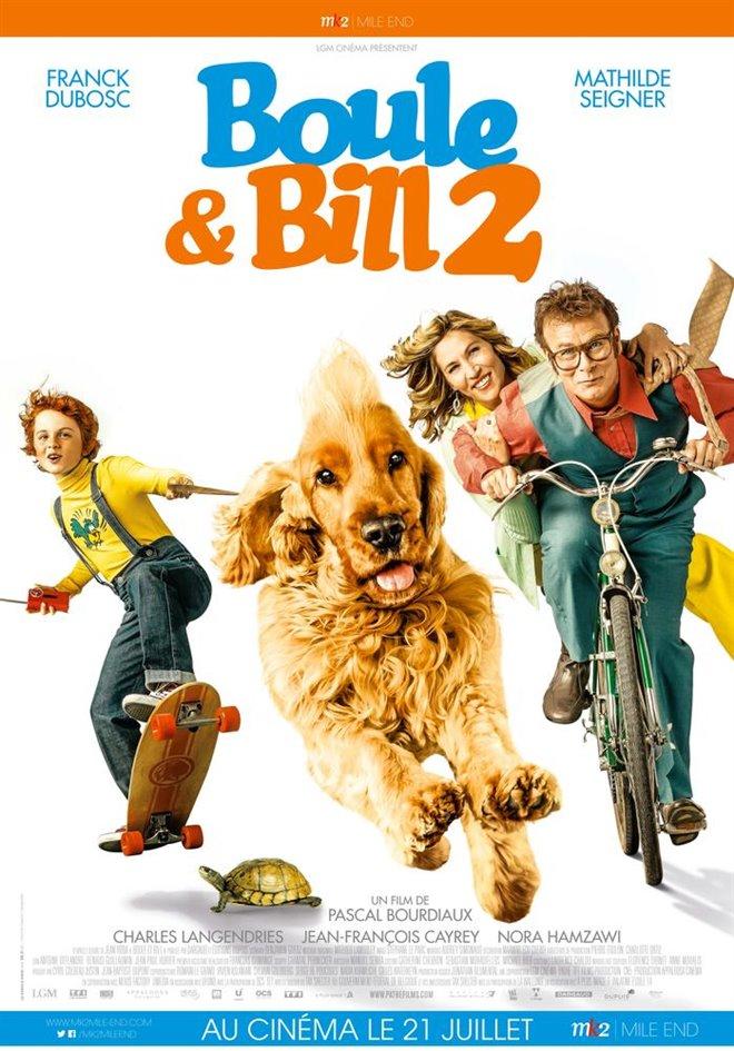 Boule & Bill 2 (v.o.f.) Large Poster