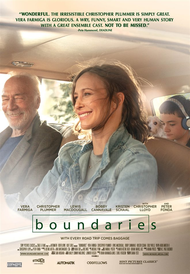 Boundaries Large Poster