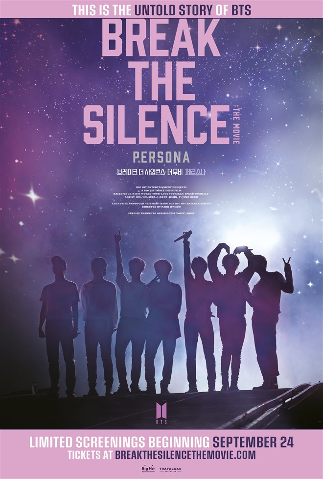 Break the Silence: The Movie Large Poster