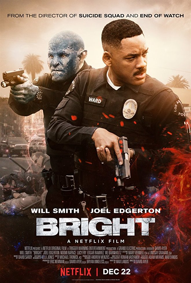 Bright (Netflix) Large Poster