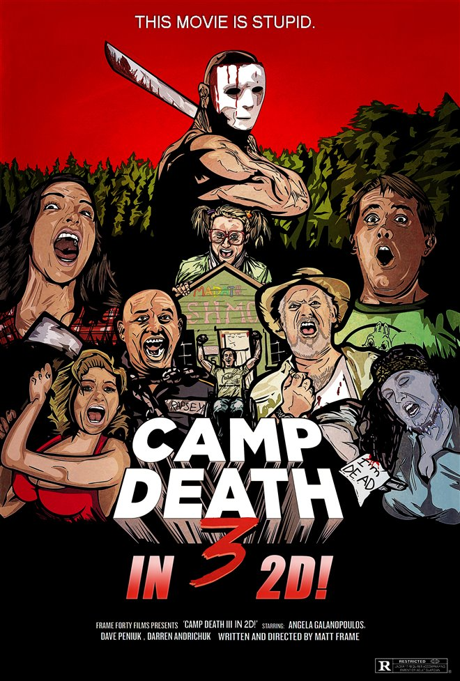 Camp Death 3 in 2D! Large Poster