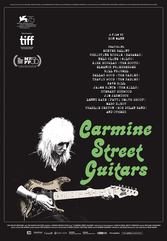 Carmine Street Guitars Large Poster