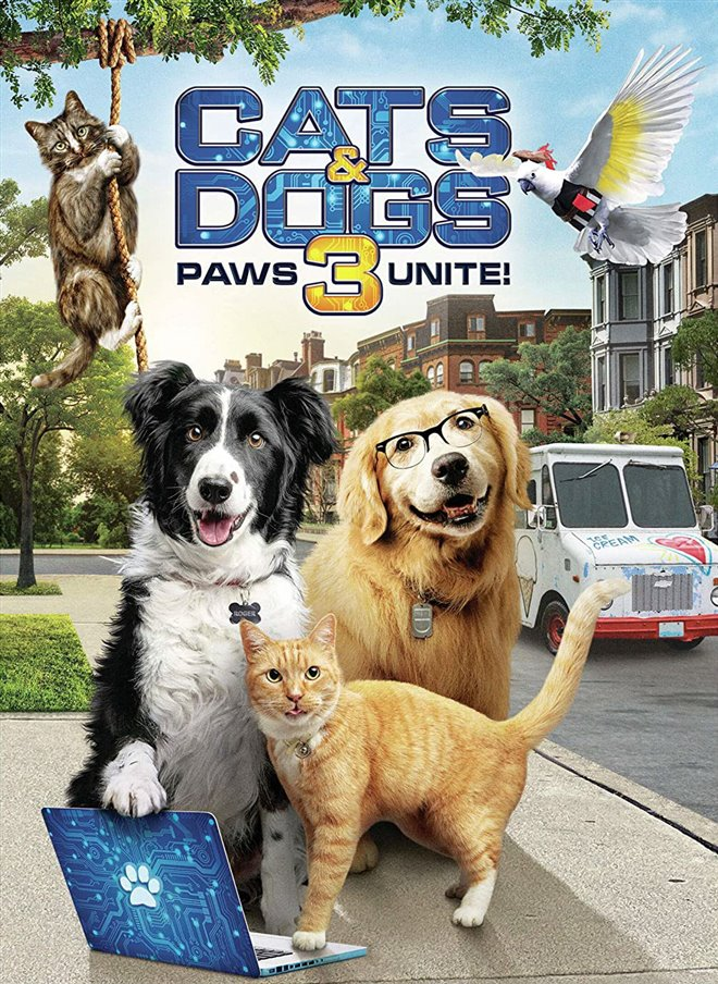 Cats & Dogs 3: Paws Unite! Large Poster