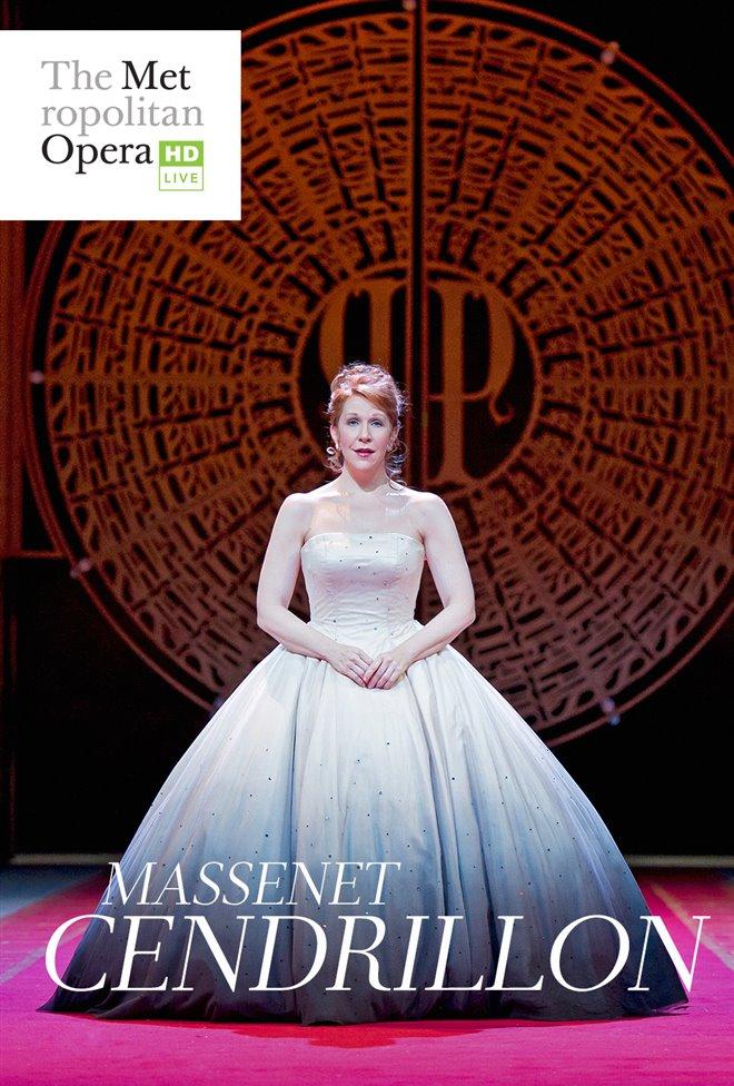 Cendrillon - Metropolitan Opera Large Poster