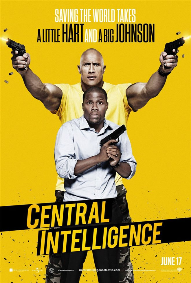 Central Intelligence Large Poster