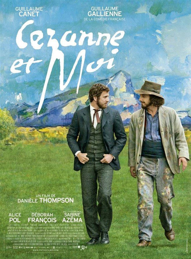 Cezanne and I Large Poster