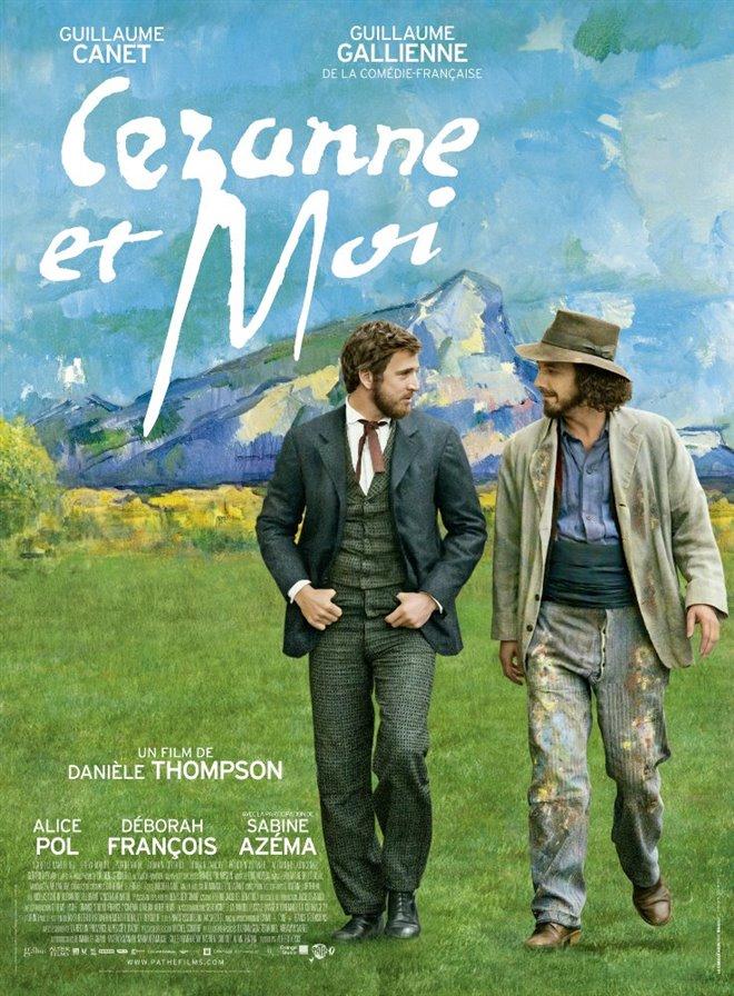 Cézanne et moi Large Poster