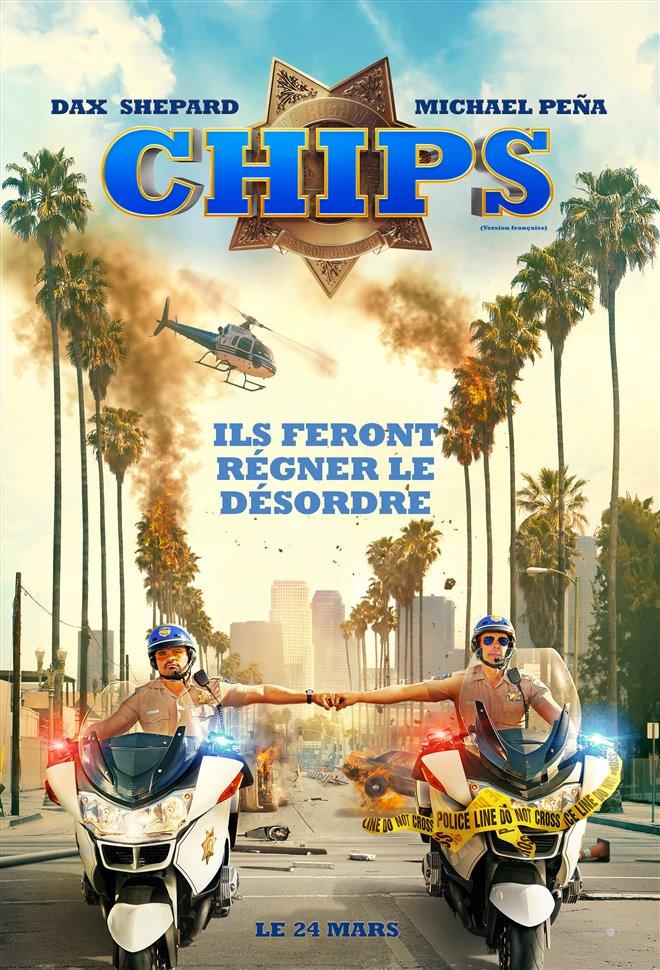 CHIPS (v.f.) Large Poster