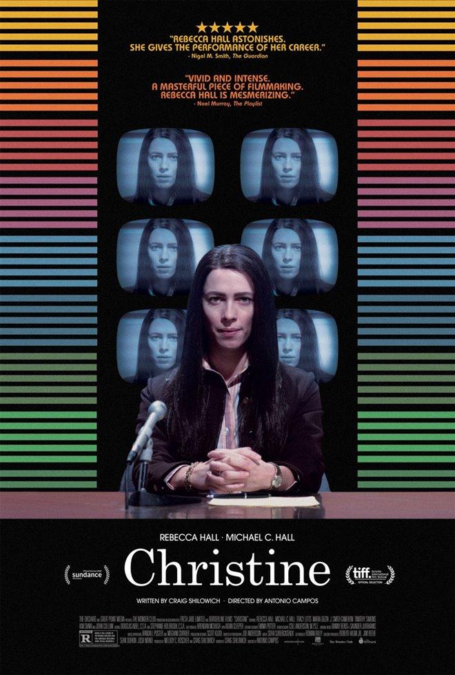 Christine Large Poster