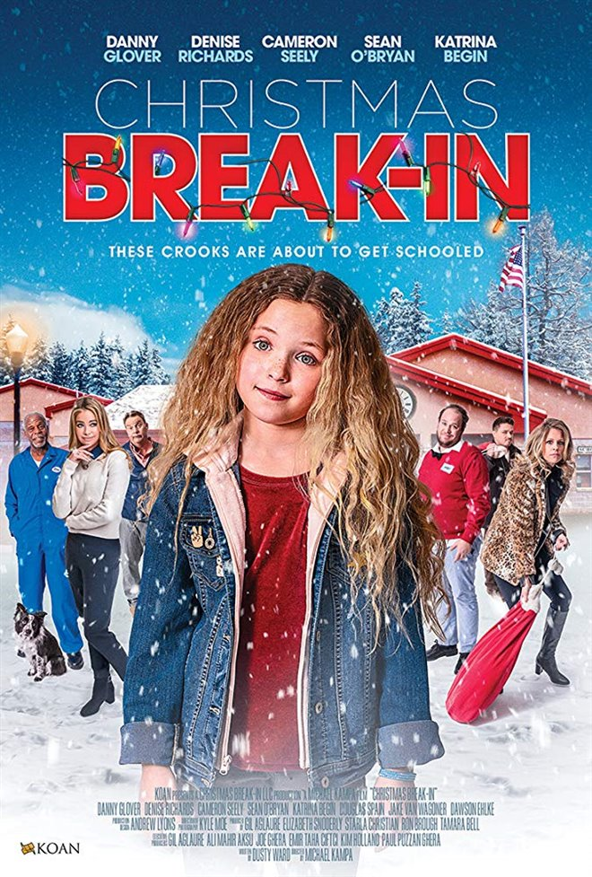 Christmas Break-In Large Poster