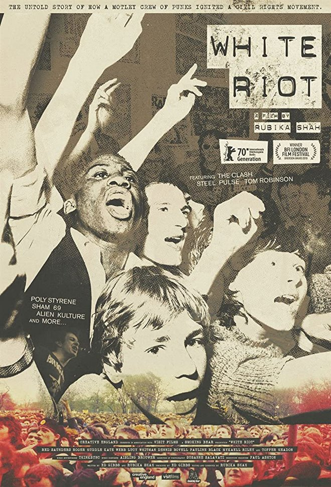 Cinematheque at Home: White Riot Large Poster