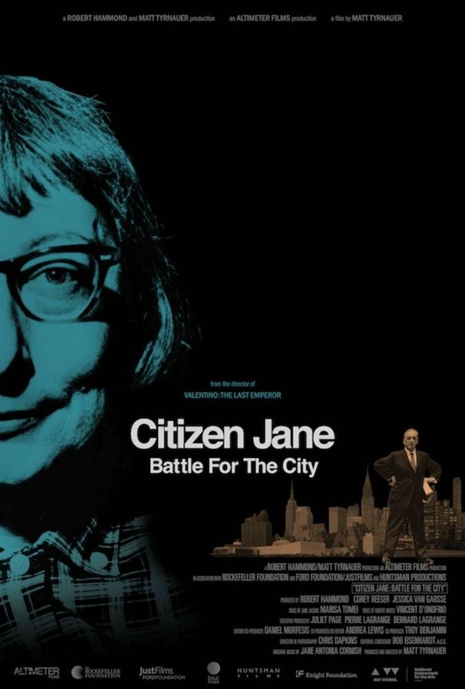 Citizen Jane: Battle for the City (v.o.a.) Large Poster