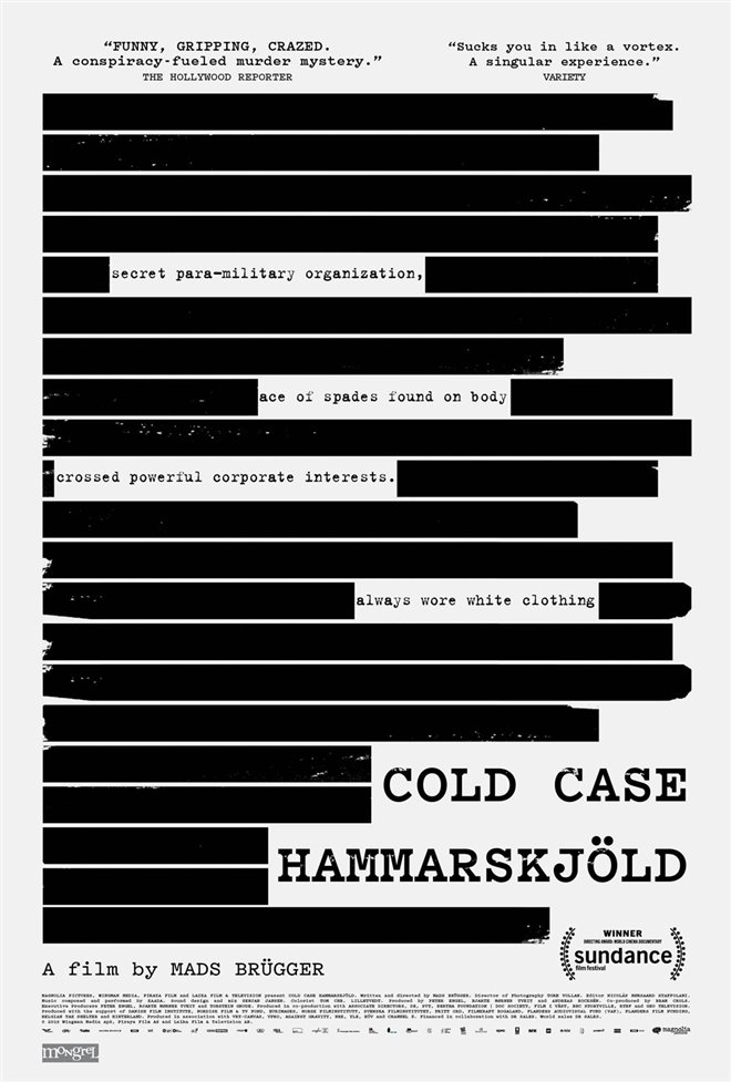 Cold Case Hammarskjöld Large Poster