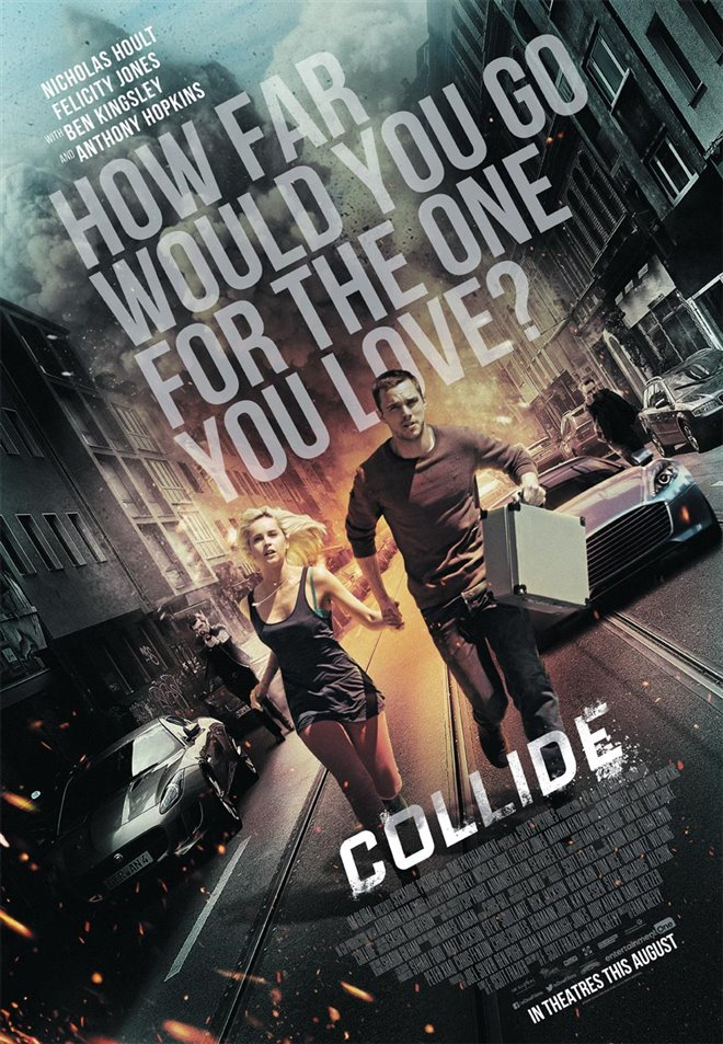 Collide Large Poster