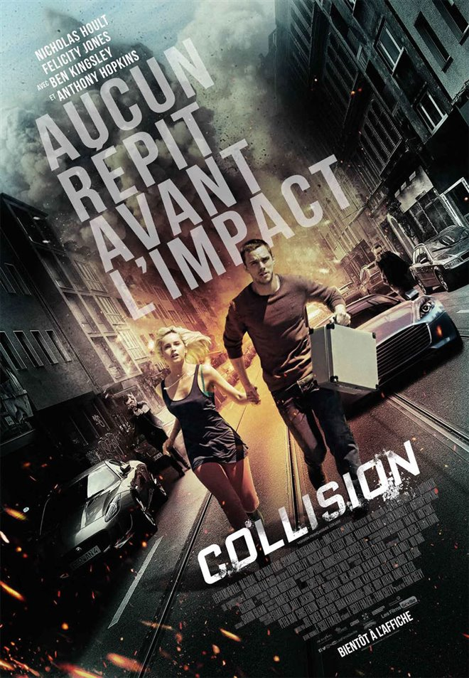 Collision Large Poster
