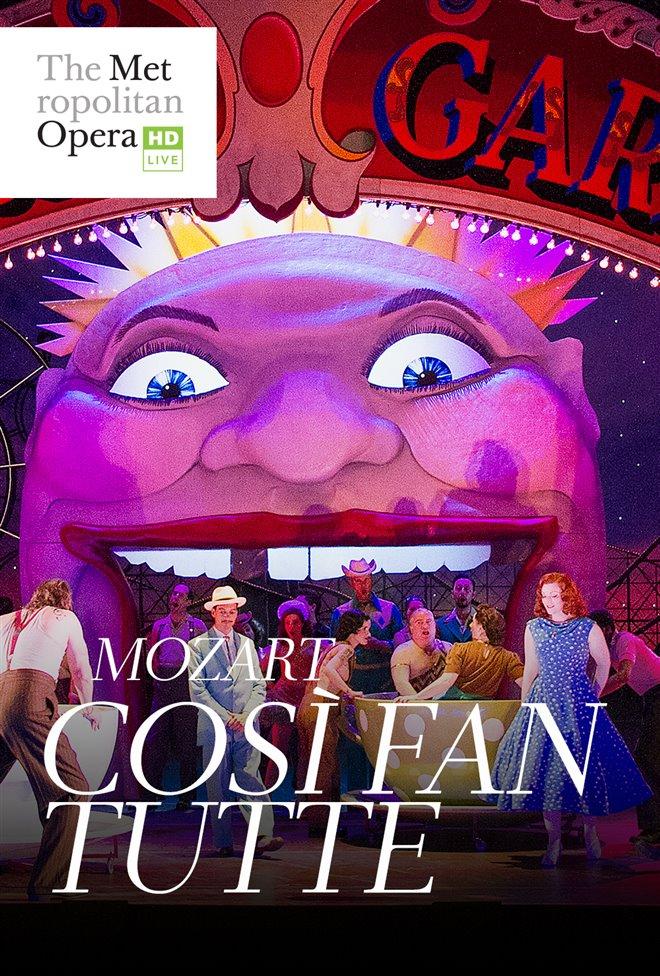Così fan tutte - Metropolitan Opera Large Poster