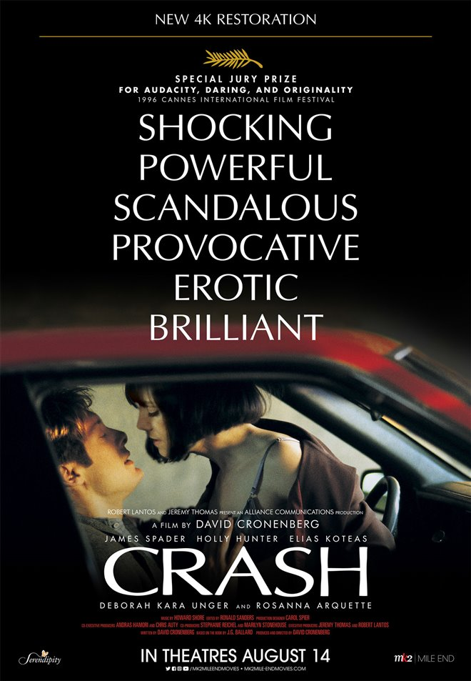 Crash (New 4K Restoration) Large Poster