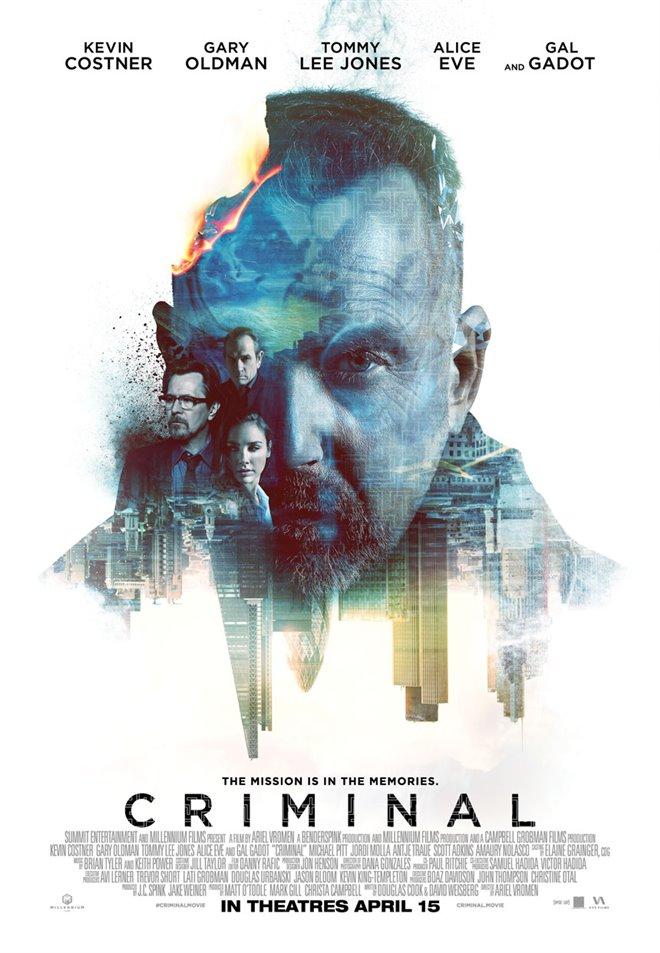 Criminal Large Poster