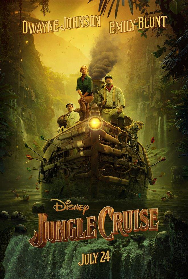 Croisière dans la jungle Large Poster