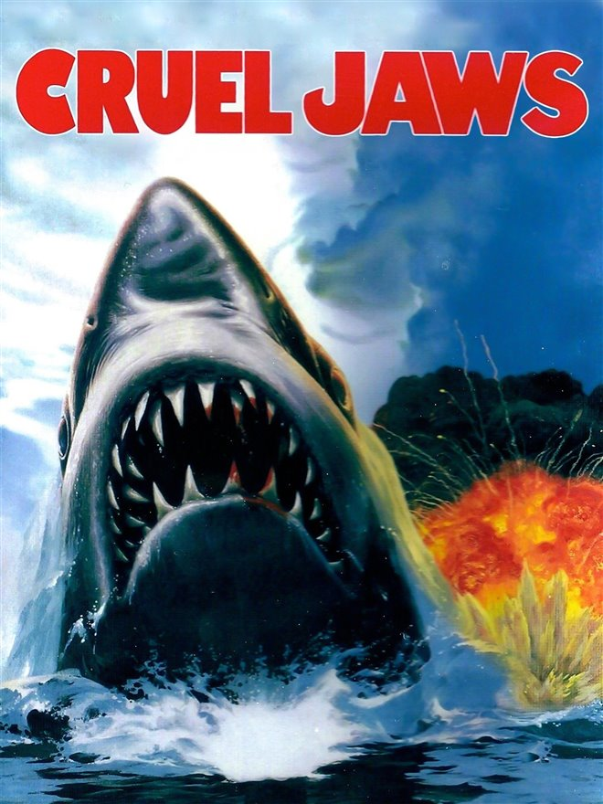 Cruel Jaws Large Poster