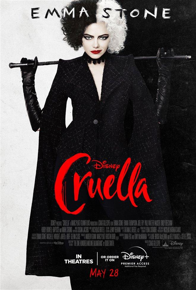 Cruella Large Poster