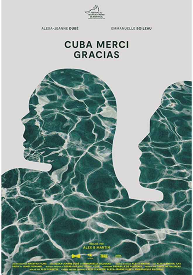 Cuba merci gracias Large Poster