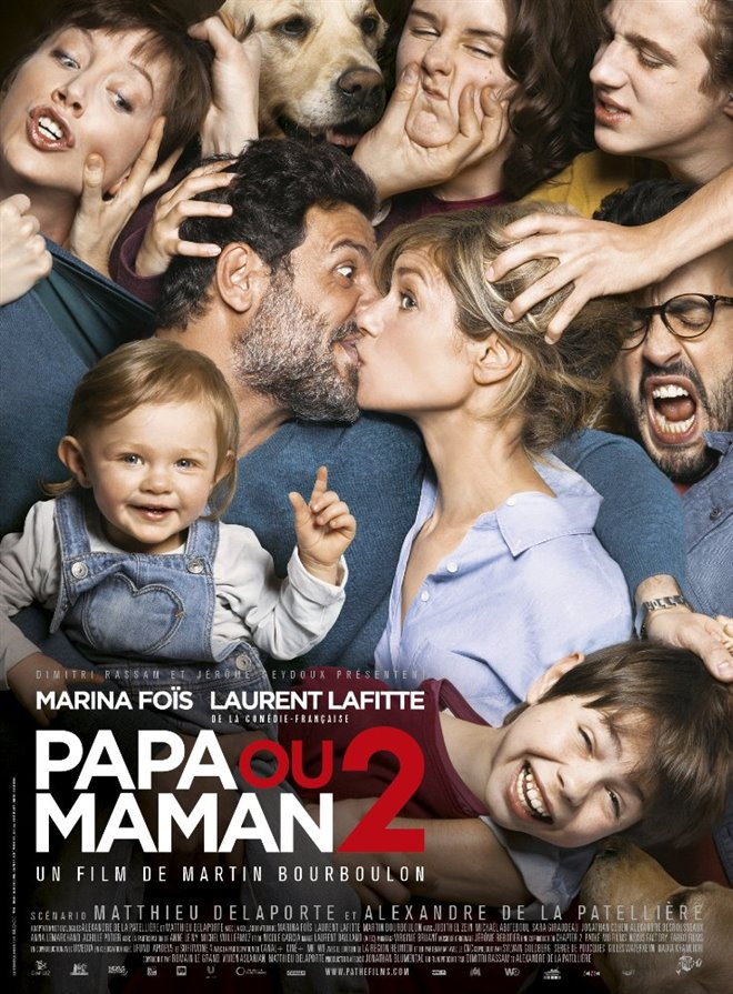 Daddy or Mommy 2 Large Poster
