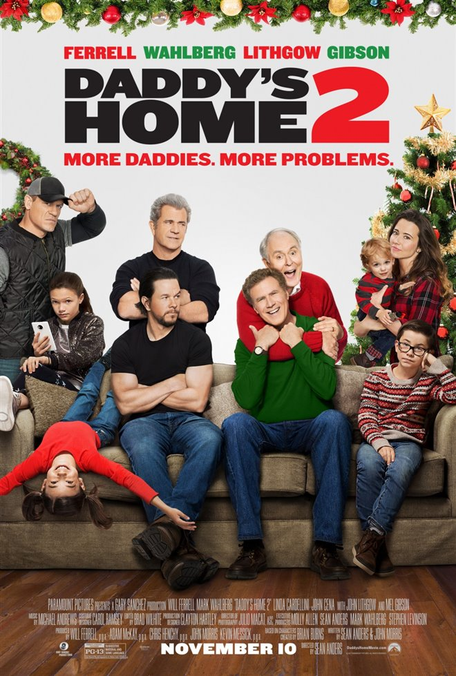 Daddy's Home 2 Large Poster