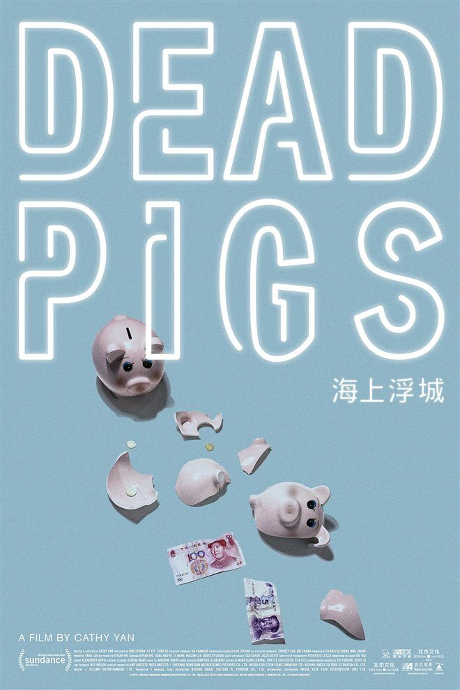 Dead Pigs Large Poster