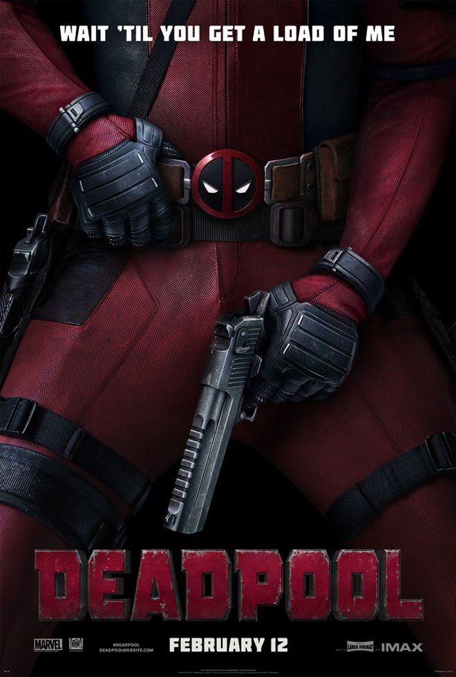 Deadpool Large Poster