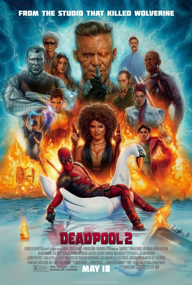 Deadpool 2 Large Poster