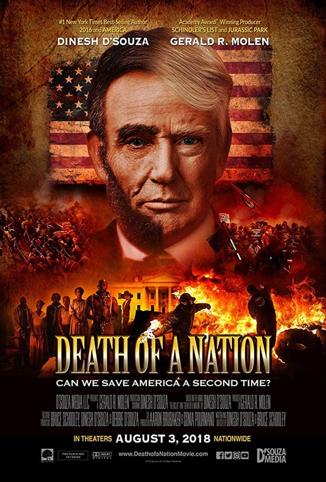 Death of a Nation Large Poster