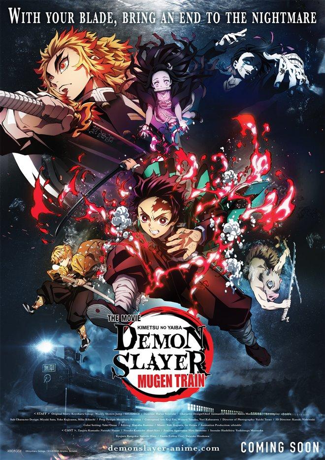 Demon Slayer le film : Le train de l'Infini Large Poster