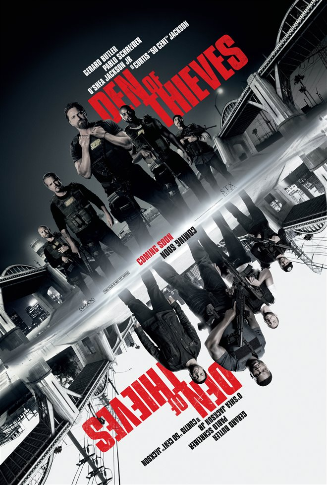 Den of Thieves Large Poster