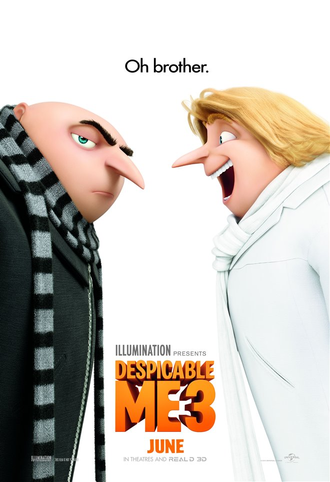 Despicable Me 3 Large Poster