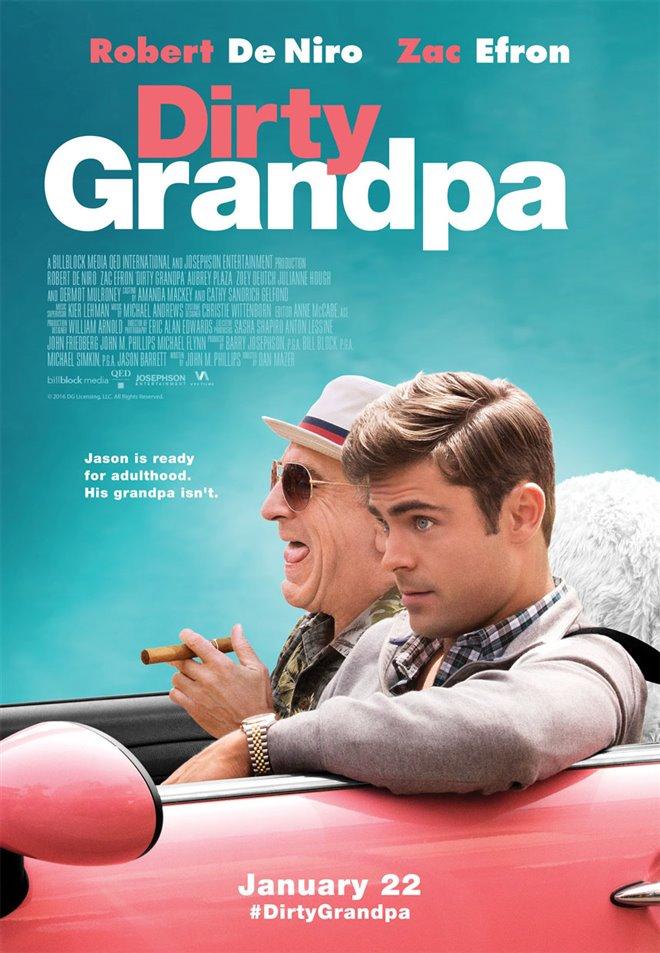 Dirty Grandpa Large Poster