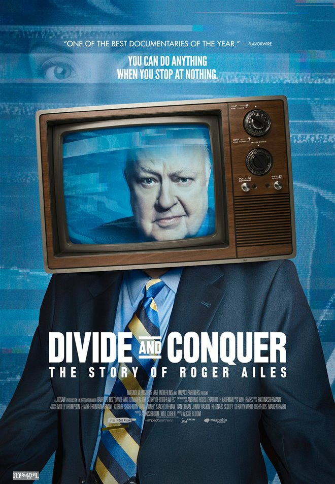 Divide and Conquer: The Story of Roger Ailes Large Poster