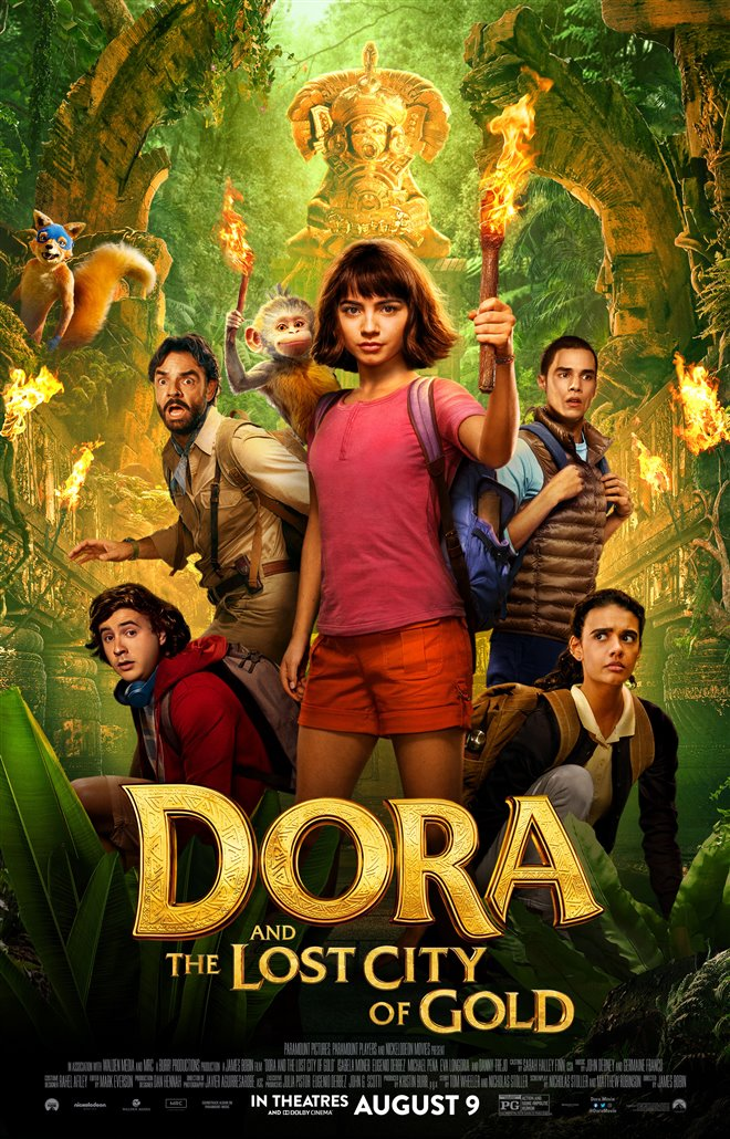 Dora and the Lost City of Gold Large Poster