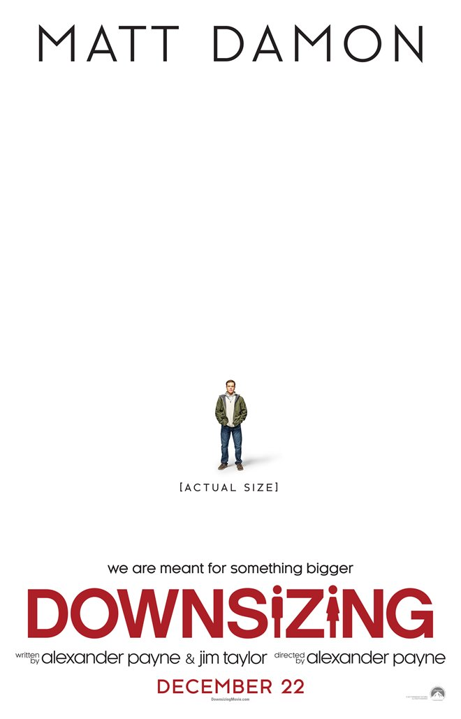 Downsizing Large Poster