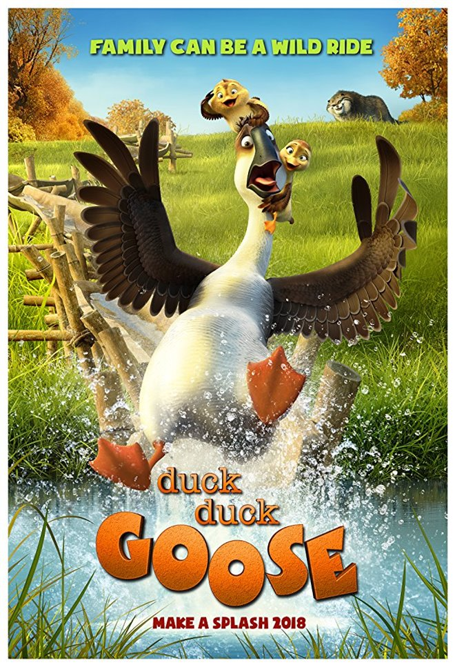 Duck Duck Goose Large Poster