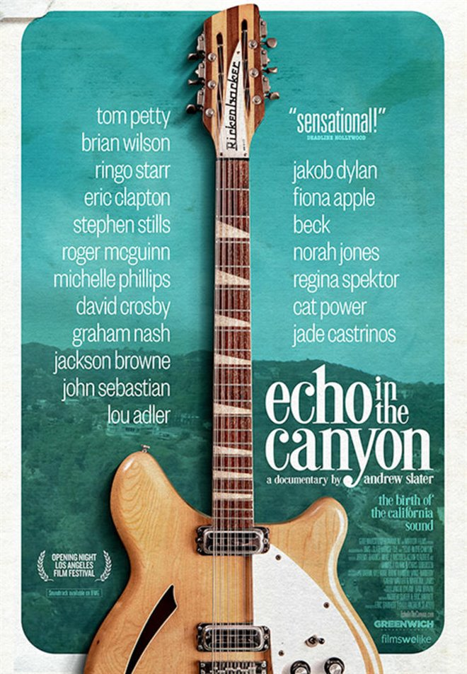 Echo in the Canyon (v.o.a.) Large Poster