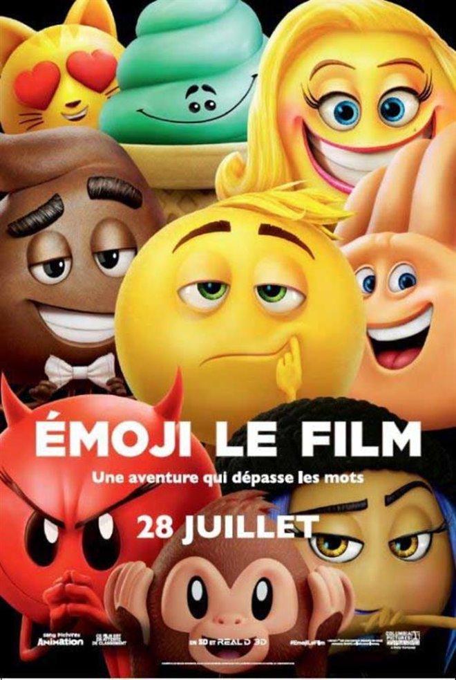 Émoji le film Large Poster