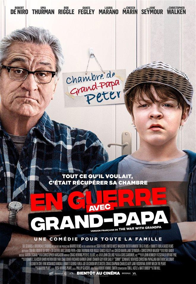 En guerre avec grand-papa Large Poster