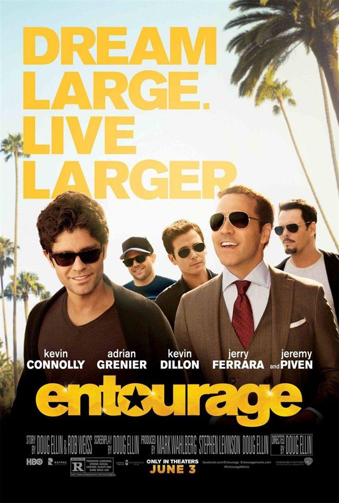 Entourage Large Poster