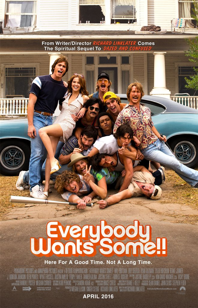 Everybody Wants Some!! Large Poster