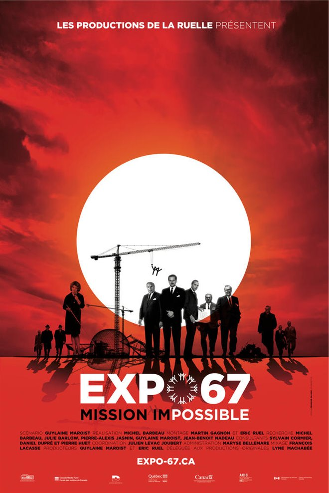 Expo 67 Mission Impossible Large Poster