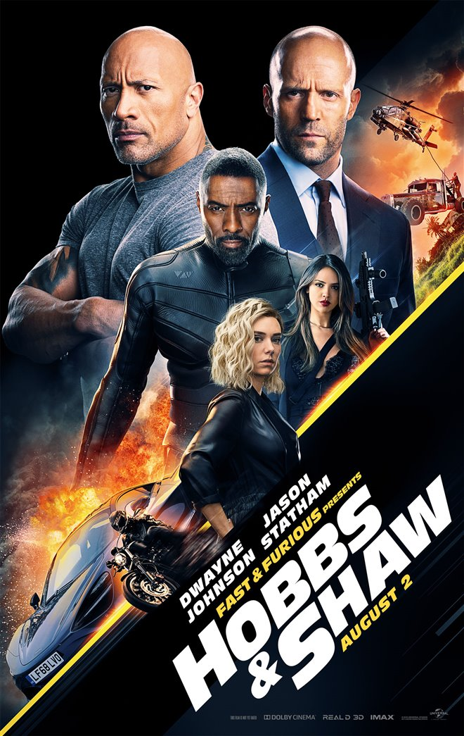 Fast & Furious Presents: Hobbs & Shaw Large Poster