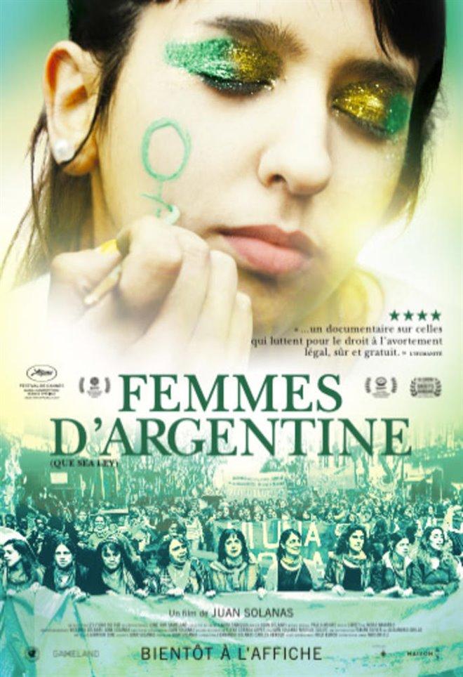 Femmes d'Argentine Large Poster