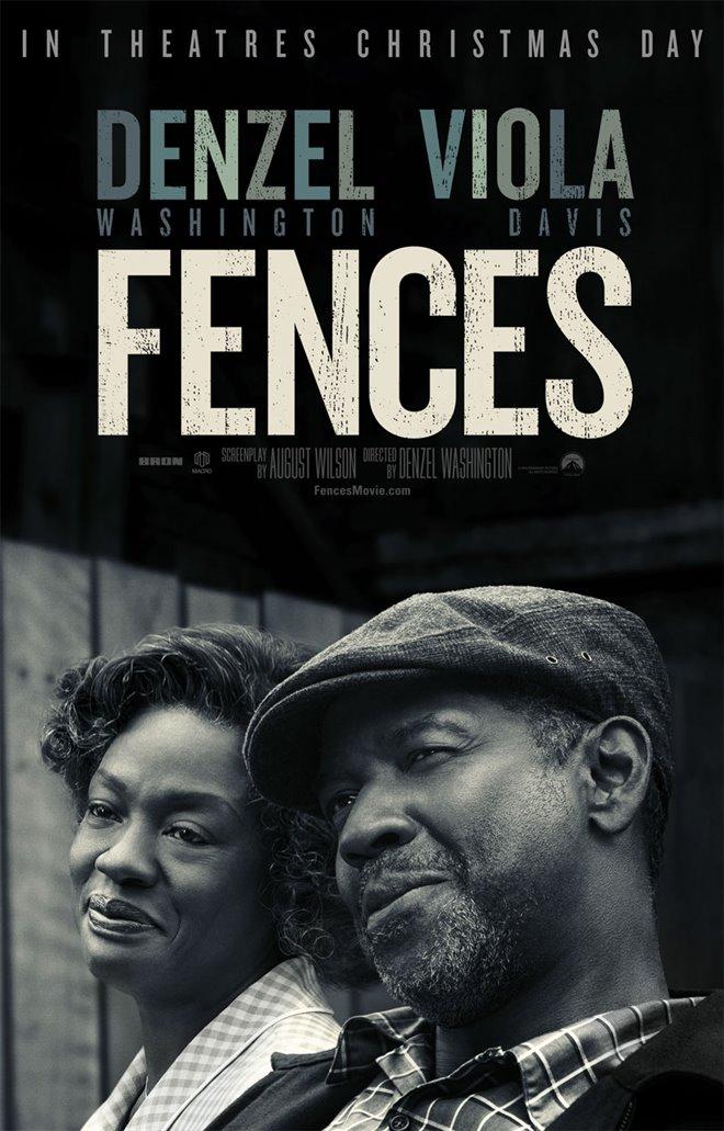 Fences (v.o.a.) Large Poster